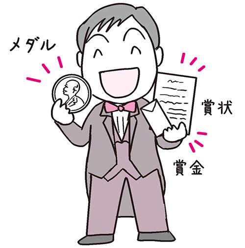ノーベル賞のイメージ画像!